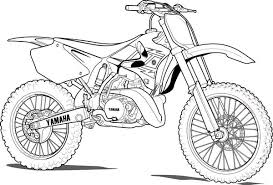 Small Picture Yamaha dirt bike coloring pages ColoringStar