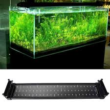72 Freshwater Aquarium Light 11w Fish Tank Aquarium Led Lighting 50cm 70cm Extendable