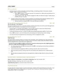 Manager Resume Examples Stunning Marketing Manager Resume Examples Product Manager Resume Examples