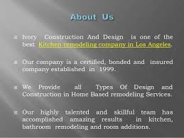 ivory construction and design best kitchen remodeling company in lo