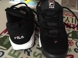 fila shoes 2016. 2016 uk - mens size 6 fila sport black tennis shoes. fila shoes