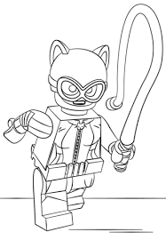 catwoman coloring page. Simple Page Lego Catwoman Coloring Page With Coloring Page Supercoloringcom