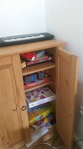 mexican pine cupboard with shelves perfect storage in any room in the house