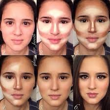do a fish face before applying the blush then bring your cheeks up and move the brush towards the apples of your cheeks this will give a natural tone to