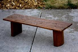 DIY benches made from pallet wood furniture: