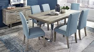 gray dining table. Cindy Crawford Home San Francisco Gray 5 Pc Dining Room Table