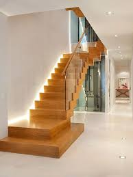 staircase lighting design. Lighting For Staircase. Example Of A Trendy Staircase Design In Other