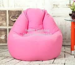 bean bag pink bean bag chair cover only no filler pink sofa bean bag