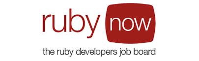 Logo Ruby Now, trabajos remotos