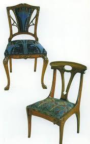 modern art nouveau furniture. art nouveau dining chair upholstered back height 0910 width 0510 depth 0430 modern art nouveau furniture e