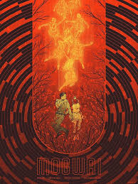 Mogwai Design Gig Poster Illustrations By Kevin Tong Omg Posters Band