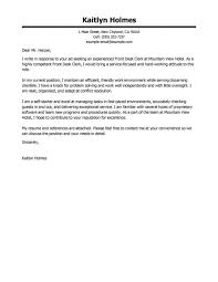 Download Cover Letter Format For Hospitality Industry Www Mhwaves Com