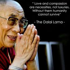 Dalai Lama Quotes On Love Fascinating Love And Compassion Are Necessities Not Luxuries Without Them