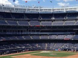 Yankee Stadium Grandstand Infield Baseball Seating