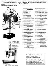 drill press parts. drill press parts i