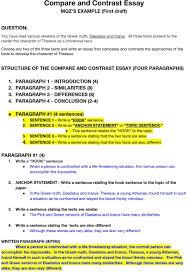 how to write a contrasting essay compare and contrast essay pdf