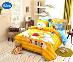 winnie the pooh bedding yellow