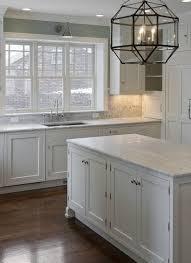 kitchen small grey and white kitchen plain dark countertop porcelain vase cabinet with black handles