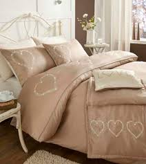 image is loading beige shabby chic 034 hearts 034 bedding duvet