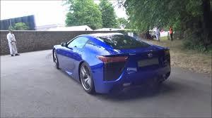 lexus lfa 2015 blue. blue lexus lfa smoking tires rear side view lfa 2015