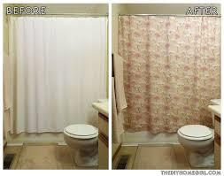 shower curtain lengths
