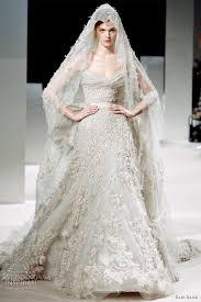 elie saab bridal 2016 haute couture wedding dress with veil