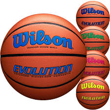 wilson official 29 5 evolution basketball navy royal green scarlet