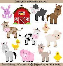 Resultado de imagen de farm animals
