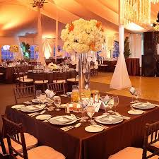 wedding centerpieces by table style and