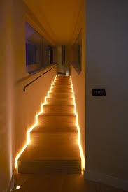 funky stair lighting idea