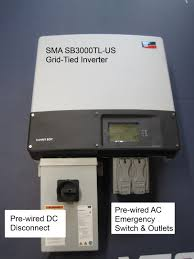 sb3000tl mod1 inverter jpg together these modifications turn a complex installation into a simple one allowing you to install this the confidence solar panel disconnect