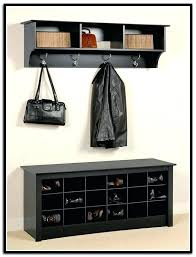 Shoe Rack With Bench And Coat Rack chic coat and shoe storage bench portraitsofamachine 46