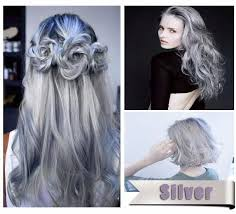 100ml hair color cream light gray hair cream color permanent easy temporary diy super dye hair