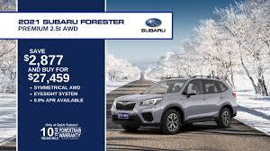 subaru special offers quirk auto