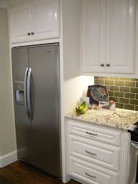 built in counter depth refrigerators.  Built Fridge Enclosed In Cabinetry Intended Built In Counter Depth Refrigerators T