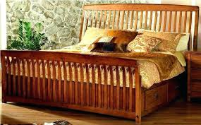 Mission Style Bed Frame Century Throughout Queen Ideas 4 Headboard ...