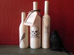 Decorating Empty Wine Bottles Simple Halloween Crafts You Can Make Using Bottles 19