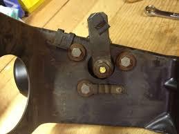 mustang two speed windshield wiper motor 1967 1973 installation mustang two speed wiper motor install image