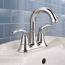 brushed chrome bathroom faucets. Bathroom Sink Faucets - Tropic 2-Handle 4 Inch Centerset High-Arc Faucet Brushed Chrome