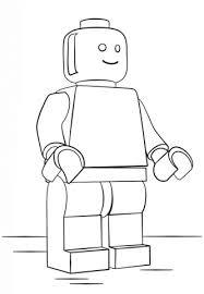 Small Picture Lego Man coloring page Free Printable Coloring Pages