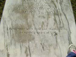 Lelia Smith Cocke Bagbey (1915-1983) - Find A Grave Memorial