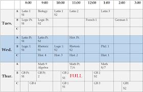 Schedule Calender Schedule Calendar Schola Rosa