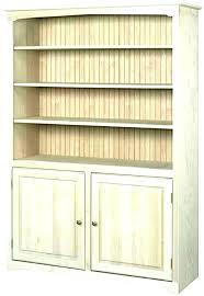 wood shelf unfinished