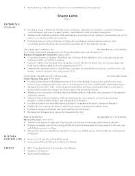 Format For A Resume Impressive Physiotherapy Doctor Resume Format Resume Pro Resume Physiotherapist