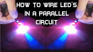 How To Wire Multiple Led Lights To One Switch How To Wire Multiple Leds In A Parallel Circuit