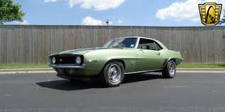 1969 CHevrolet Camaro Frost Green SS for sale at Gateway Classic ...