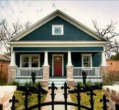 exterior paint colors with red brick40 Exterior Paint Color Ideas With Red Brick  Round Decor
