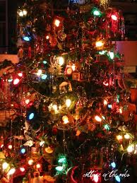 32 Best Old Fashion Christmas Trees Images On Pinterest  Old Old Style Christmas Tree Lights