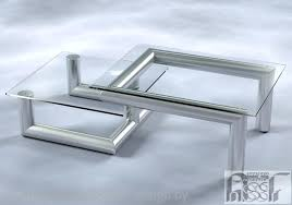 coffee table stainless steel coffee table modern stone and metal coffee table extraordinary stainless steel coffee