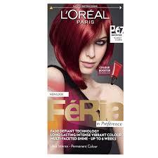 Amazon Com Feria Color Booster By L Oreal Paris P67 Pure Scarlet